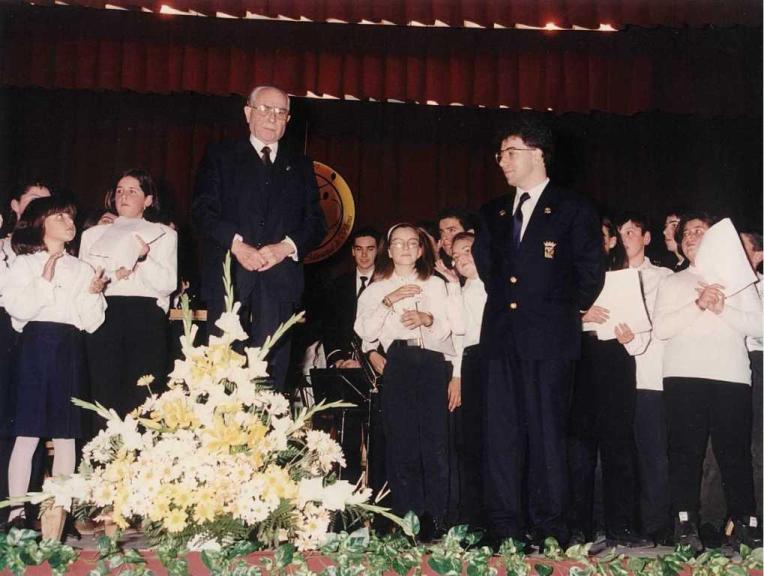 La Banda Municipal de Música de Villena celebró su 75 aniversario.