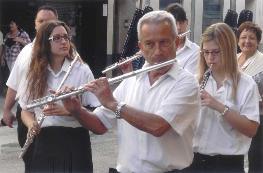Pedro Martínez López. Una vida ligado a la Banda Municipal de Música de Villena.