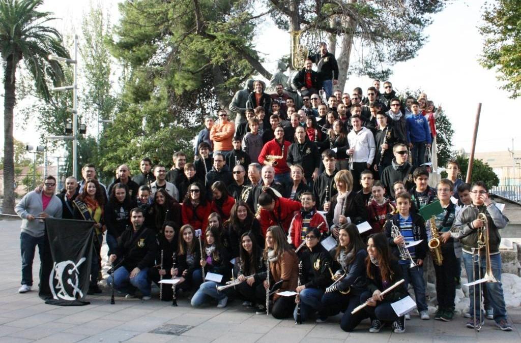 La Banda Municipal de Música de Villena celebra su Patrona, Santa Cecilia 2013. XIV Trobada de coros de la Comunidad Valenciana
