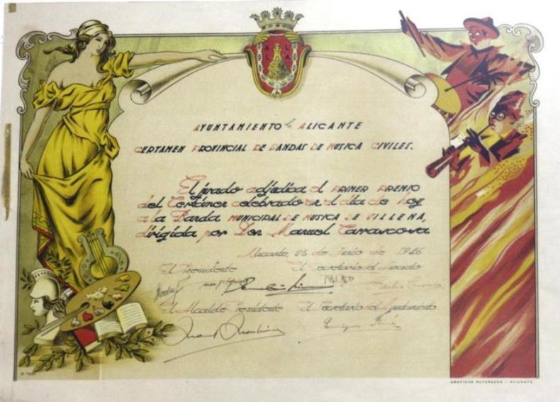 Diploma 1946