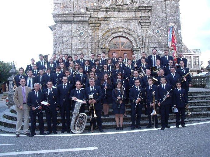 Viaje a Galicia con la Banda Municipal de Villena