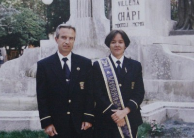 1996 <br> Isabel Amorós Zornoza <br> Pedro Martínez López