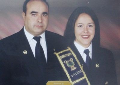 1999 <br> Eva Amorós Zornoza <br> Pedro Tomás Ayelo