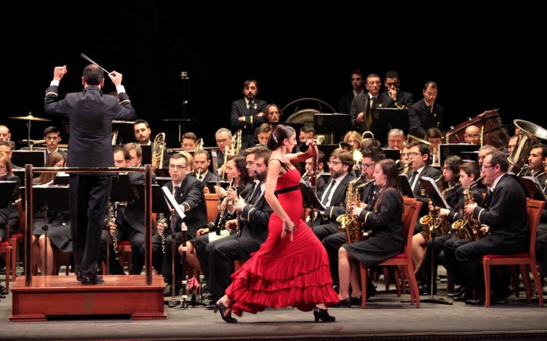No sólo de música vive la Banda Municipal. Santa Cecilia 2015