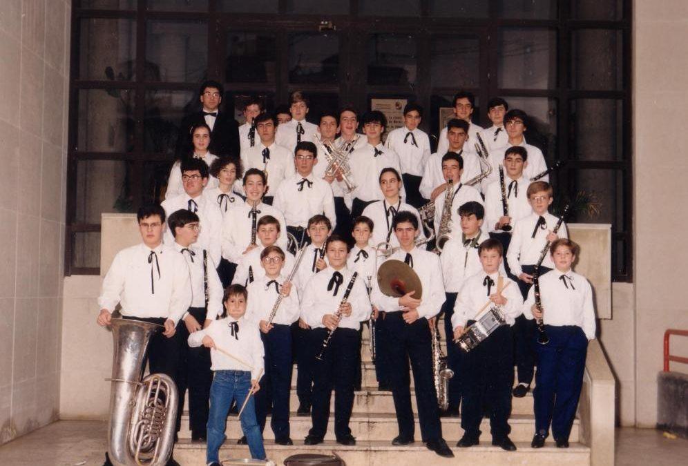 1988.- Nacimiento de la Banda Juvenil, nuestra cantera. Toda realidad necesita de un proceso